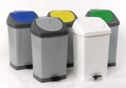 Papeleras de plastico - Guantes de Vinilo, Latex y Nitrilo - Bolsas de Autocierre