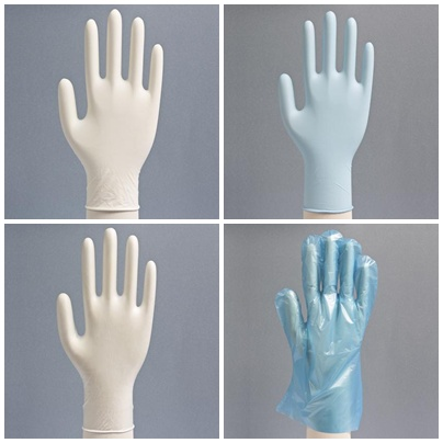 Diferencia entre guantes de distinto material