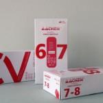 Caja guantes de vinilo sintetico blanco
