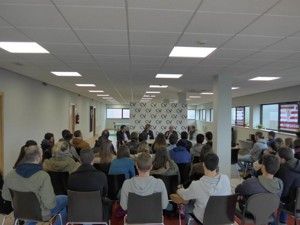 charla para alumnos de la upv/ehu