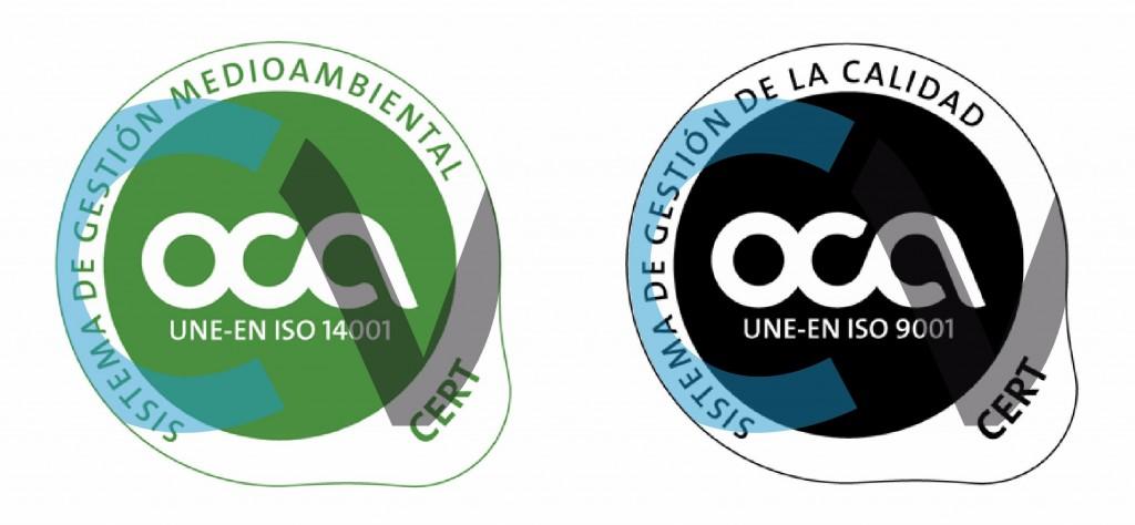 ISO 9001 y 14001 CV Protection