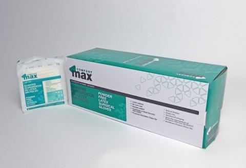 guante de latex estéril para cirugía