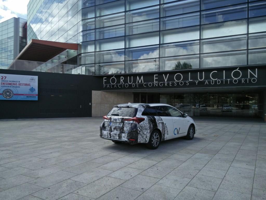 coche cv protection en museo evolución