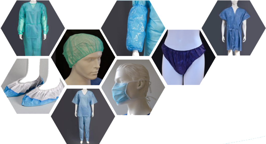 ropa desechable cv protection