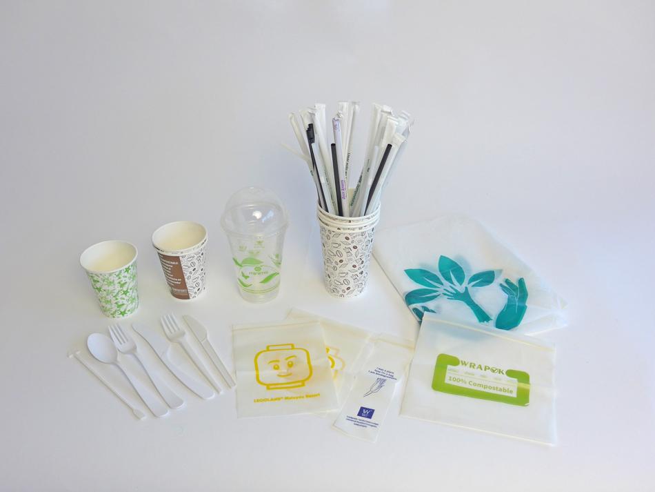 Productos desechables biodegradables y compostables - Guantes de Vinilo, Latex y Nitrilo - Bolsas de Autocierre