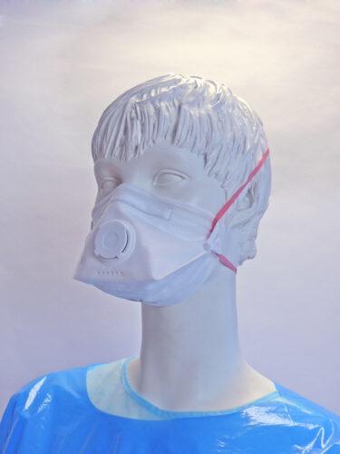 Mascarilla de proteccion respiratoria ffp3 con valvula - Guantes de Vinilo, Latex y Nitrilo - Bolsas de Autocierre